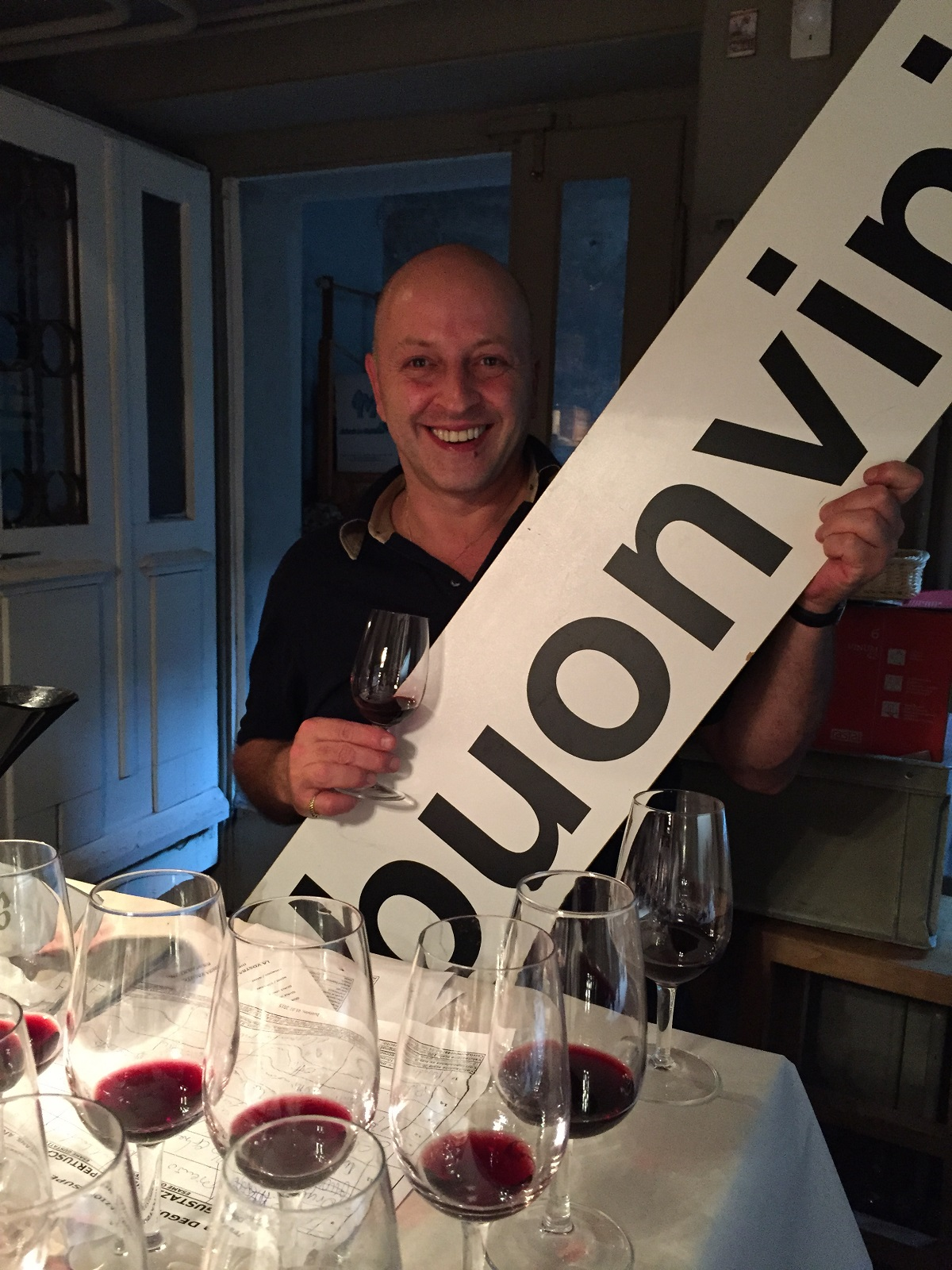 Sympathischer Gastgeber und profunder Kenner der italienischen Weinszene: Nicola Mattana