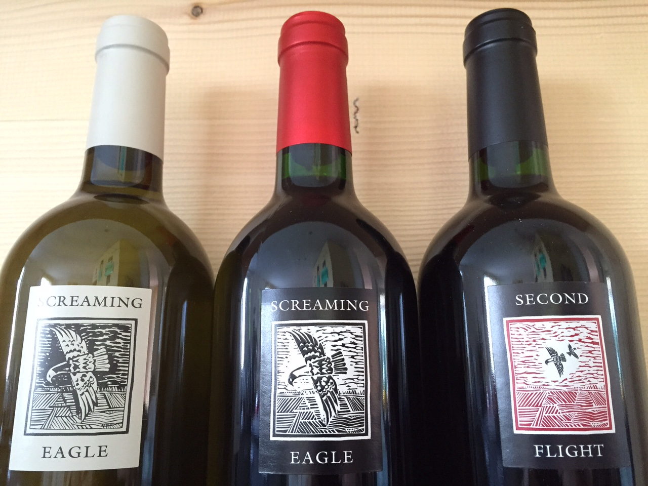 Screaming Eagle Trio (Sauvignon Blanc, Cabernet Sauvignon, Second Flight)