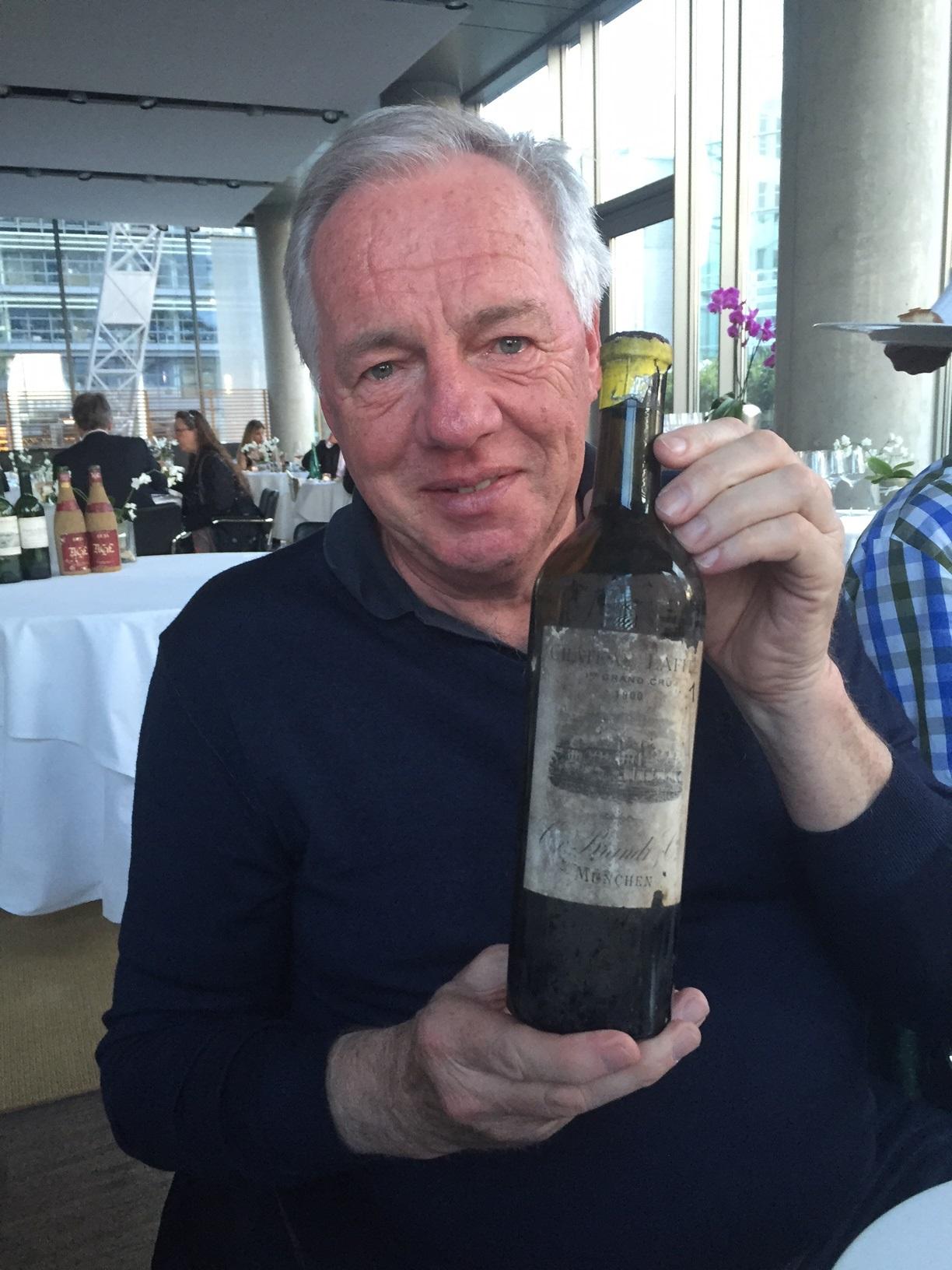 """Achim """"Wineterminator, Altwein Miraculix, Genuss Druide"""" Becker"""